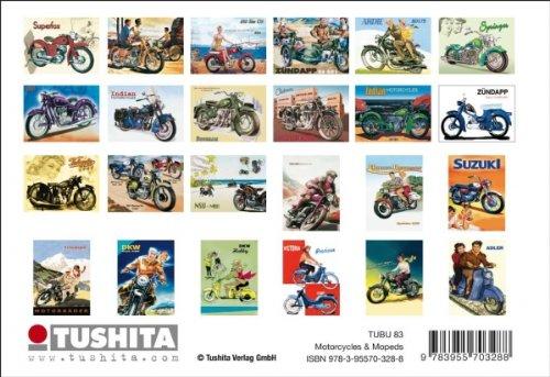 Postkartenbuch MOTORCYCLES & MOPEDS / RETRO