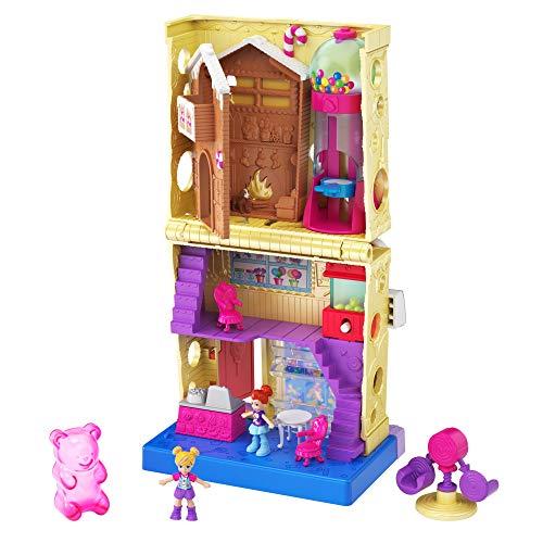 Polly Pocket- Playset Fabbrica delle Caramelle Giocattolo per Bambini 4+Anni, GKL57