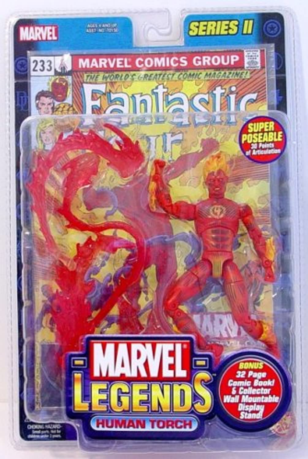 Marvel Legends Human Torch Fantastic 4 Variant by Marvel