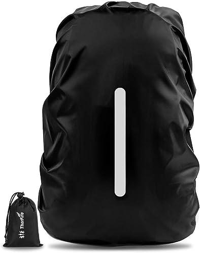 Medium Noir BTR Haute Visibilité Réfléchissant Imperméable Sac à dos /& Sac à dos de couverture