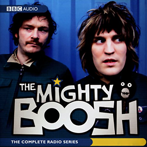 The Mighty Boosh audiobook cover art
