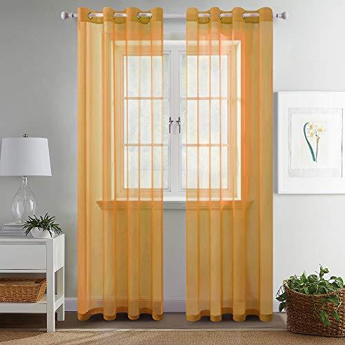 cortinas transparentes voile