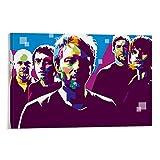 EWRW 3 Radiohead-Poster, Gemälde auf Leinwand,