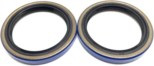 (Pack of 2) WPS Trailer Hub Wheel Double Lip Grease Seal 15192TB (10-60) 1.500'' x 1.987'' for 2000# Axles