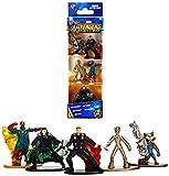 Jazwares Nano METALFIGS-Marvel Avengers Infinity War-Pack de 5 Figuras de 4 cm (Thor, Rocket, Teenage Groot, Loki, Vision), 99920