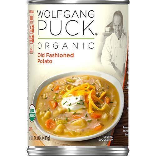 Wolfgang Puck Organic Old Fashioned Potato Soup, 14.5 oz. Can