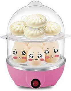Cocina eléctrica multifuncional Calderas eléctricas multifuncionales Olla de cocción rápida de 2 capas Vapor Caldera furtiva de huevos 14 Capacidad de huevos Bandeja extraíble