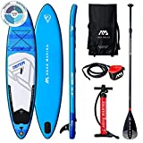Aqua Marina Unisex-Adult BT-19TRP Triton Stand Up Paddle Board 11.2 aufblasbar iSUP im Set, 340 x 81...