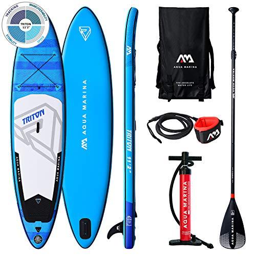 Aquamarina Sup Triton Stand up, Paddle, Planche, Surf, Board Mixte, Bleu, 3408115