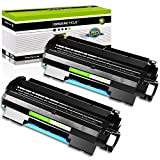GREENCYCLE 2 PK Black Toner Cartridges Replacement Compatible for Canon 106 0264B001AA imageClass MF6530 MF6540 MF6550 (5000 Yield per Toner)