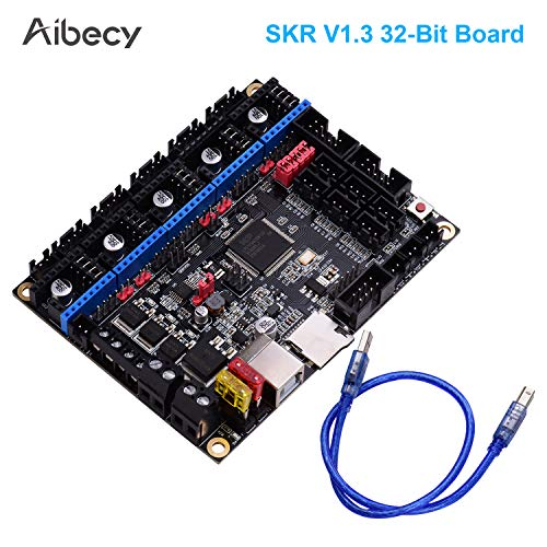 Control Board,Benkeg SKR V1.3 Control Board Mainboard 32 Bit ARM CPU with USB Cable Support TMC2130 TMC2208 Compatible with LCD2004 LCD12864 Screen for 3D Printer Parts