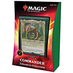 Choose from three fierce Commanders from Ikoria: Lair of Behemoths (IKO) to lead your deck to victory—four legendary creatures, including two that share a magical bond and can command your deck together. Commander is a Magic: The Gathering (MTG) mult...