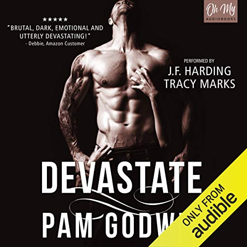 Devastate audiobook cover art