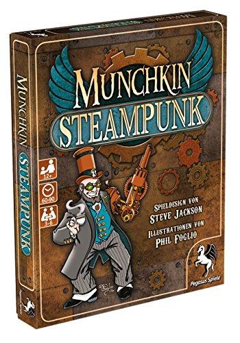 Pegasus Spiele 17248G - Munchkin Steampunk