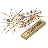 Mikado Spiel - Bastones de madera, juego de mesa Shangai Stecchini