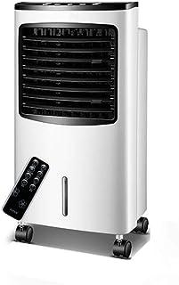 Aire Acondicionado Portátil Enfriador Móvil Climatizador Evaporativo Ventilador Refrigerado por Agua Tiempo Remoto Tanque De Agua Grande 8L (Color : Remote Control)