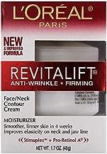 L'Oreal Revitalift Face & Neck Anti-Wrinkle & Firming Moisturizer Day Cream 1.70 oz (Pack of 2)