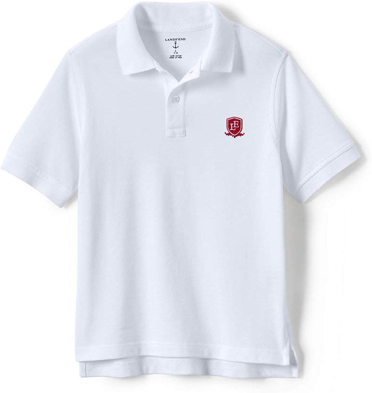 Lands' End School Uniform Little Kids Short Sleeve Mesh Polo Shirt