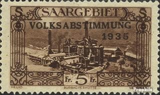 SAAR 193 1934 Referendum (Stamps for Collectors)