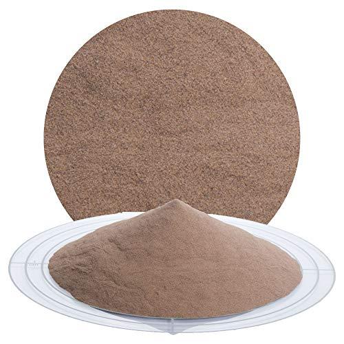 25 kg Granatsand Strahlmittel - Mehrwegstrahlmittel zum Sandstrahlen, zur Graffitientfernung, Sanierung von Sandstein (Granatsand Strahlmittel, 0,10-0,25 mm)