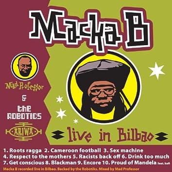 Macka B Live in Bilboa