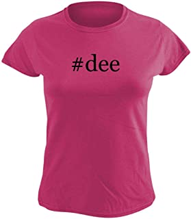 Harding Industries #dee - Women's Hashtag Graphic T-Shirt