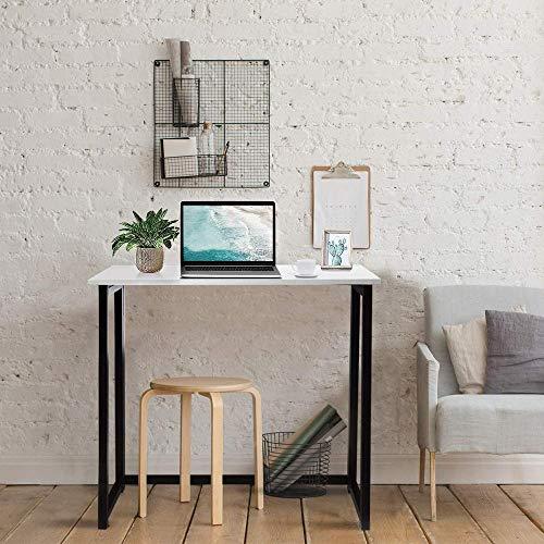 ZZYLHS Escritorio De Computadora Plegable, Usado En La Oficina De Campamento De Jardín De Picnic De La Empresa, Escritorio De Estudio Simple Compacto