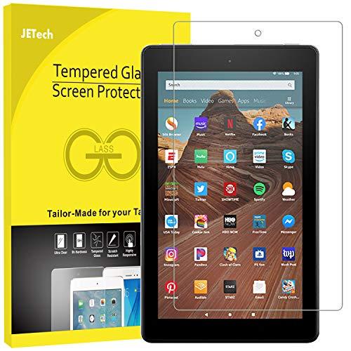 JETech Schutzfolie Kompatibel mit Amazon Fire HD 10 Tablet 10.1