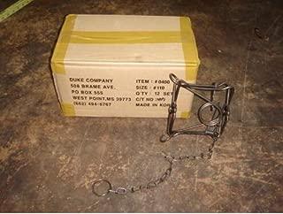 superbobi 12 New Duke 110 conibear body grip traps/muskrat/rabbit/mink/rat trapping