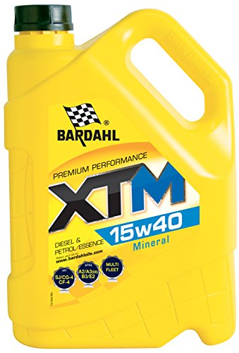 Bardahl 36263 Huile XTM 15W40 Minérale A3/B3 (VL)