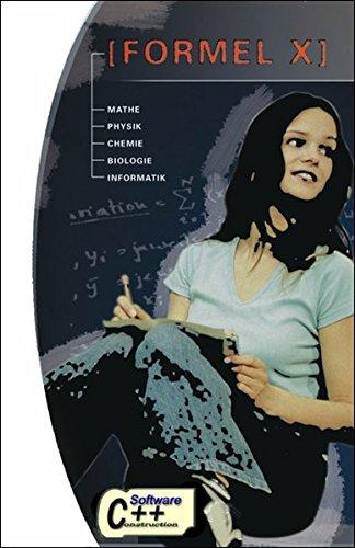 Formel X - Berechenbare Formelsammlung für Schüler und Studenten mit Formeln aus Mathematik, Physik, Chemie, Biologie und Informatik: Lernsoftware für ... Freischaltcode finden Sie direkt auf der CD
