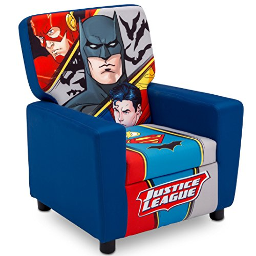 Delta Children High Back Upholstered Chair DC Comics Justice League