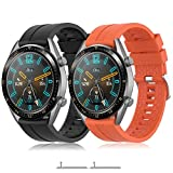 TOPsic Correa Huawei Watch GT 2/Huawei Watch GT Fashion/Sport/Active/Elegant/Classic/Gear ...