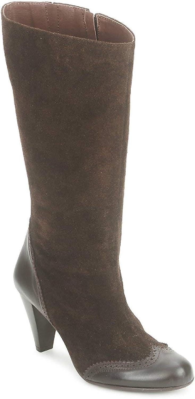 So Größe ZOZI Stiefel Damen Braun Klassische Stiefel