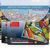 Berrd 72 Buntstifte Aquarell lapices de Colores Profesionales 36/48/60/72 Buntstifte für Kunstschulbedarf Schreibwaren - 72 Farben Set