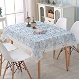 Tablecloth Spitze Stickerei Tischtücher Rechteckige Europäische Tischdecke Dekorative Tischwäsche Staubdicht Möbel-Cover Für Mikrowelle Kühlschrank Wachstuch-a 30x87inch(75x220cm)