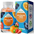 Prebiotic Fiber Gummy Vitamins for Adults - Soluble Fiber Gummies for Adults Gut Health Supplement and Immune System Booster - Dietary Fiber Supplement Gummies Vitamins for Adults Digestive Support