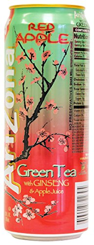 Arizona Red Apple Ice Tea 1x 680ml inkl. DPG-Pfand