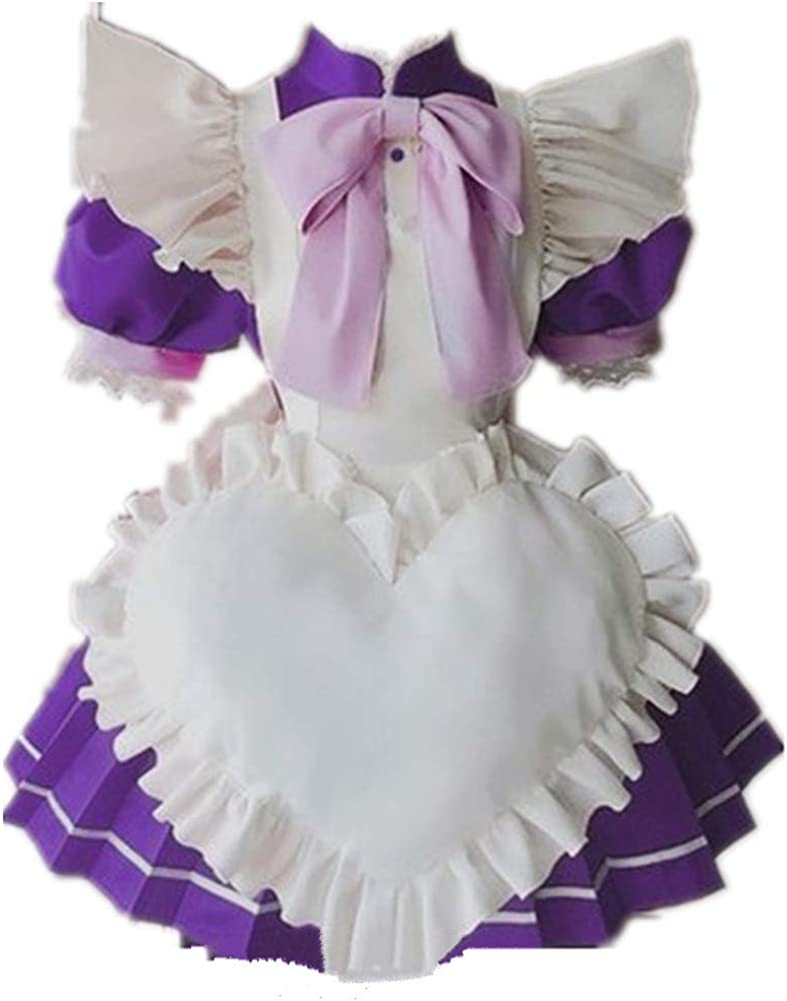 Tokyo We OFFer at cheap prices Mew Fujiwara Zakuro Cosplay Costume Dres Red Maid Cute Louisville-Jefferson County Mall