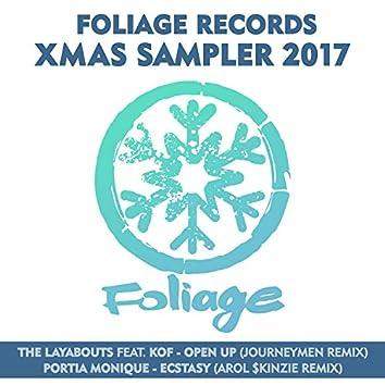 Foliage Records Xmas Sampler 2017
