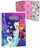 Heftordner / Ordner A4 - ' Disney die Eiskönigin / Frozen ' - für Hefte, Zettel und Mappen - Gummizugmappe & Heftmappe - Mappe Ordnermappe / Ordnungsmappe Hefter Heftbox - A 4 - Kinder...