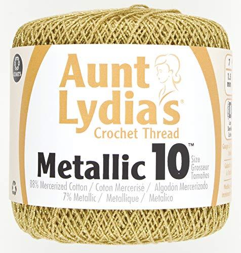 Coats Crochet Metallic Crochet Thre…