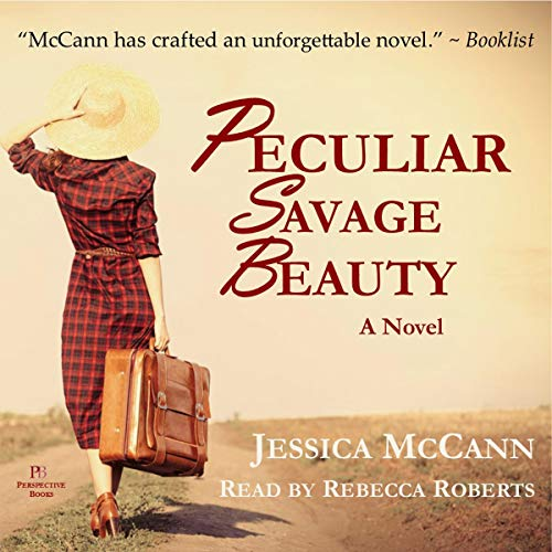Peculiar Savage Beauty audiobook cover art