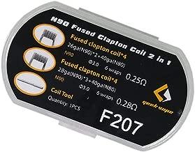 8pcs Geekvape N90 Fused Clapton Prebuilt Coil Wire (F207)