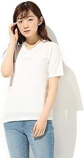 Tシャツ トップス カットソー 半袖 ロゴ レディース 春 夏 UVカット Honeys ハニーズ 半袖VネックTシャツ 5780135482