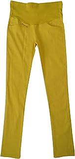 11036e3367fbb MTRNTY Women's Maternity High Elastic Waist Comfortable Stretch Slim Fit  Pants