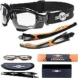 Gafas Protectoras de diseño ?spoggles? de Primera Calidad ToolFreak | La combinación Gafas de Seguridad y Gafas de diseño (Spoggle - Transparente)