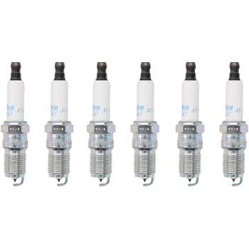 MOTOKU 6Pcs Iridium Spark Plugs For GMC Buick Chevrolet 41-101 12568387