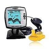 Lixada Sonar Fisch Sucher(2 in 1 Wired/Wireless) Fischfinder Echolot Sensor Transducer Fisch Detektor Monitor