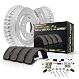 Power Stop KOE15371DK Autospecialty Rear Replacement Brake Kit-OE Brake Drums & Ceramic Brake Pads